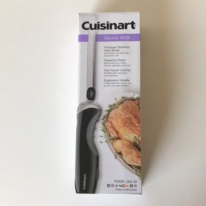 Cuisinart Electric Knife Model CEK-30 NIB!